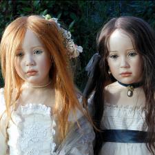 Процесс создания фарфоровых кукол - Джинн Гросс (Jeanne Gross). Часть шестая - Три Сестры