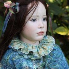 Процесс создания фарфоровых кукол - Джинн Гросс (Jeanne Gross). Часть Часть седьмая - Дети Цветов