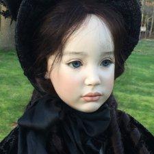 Процесс создания фарфоровых кукол - Джинн Гросс (Jeanne Gross). Часть девятая - Стефани навсегда