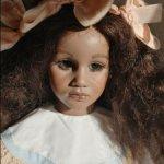 Фарфоровая кукла-самоделка Химстедт - Фатоу