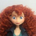 """Кукла Мерида по м/ф """"Ральф против интернета"""" от Disney Store"""