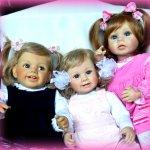 Лучезарные и улыбчивые куколки  от Barry Cathers