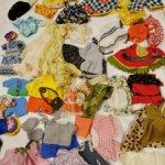 Продам винтажную одежду для маленьких кукол ГДР, Италия, и пр.