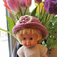 Редкая маленькая немецкая куколка ГДР, Германия