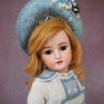 Продается антикварная куколка Simon & Halbig для  C.M. Bergmann