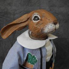 Винтажный заяц.