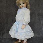 Батистовое платье для куклы 58-60 см