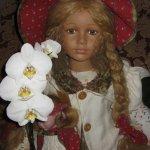 Наша гостья - кукла Martha от William Tung. Девочка нежная как орхидея