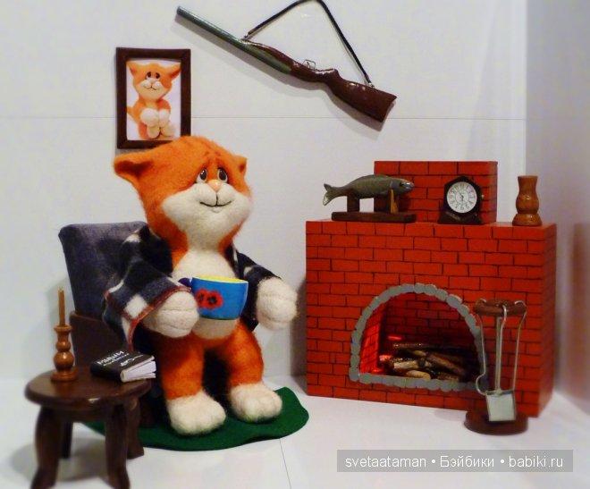 Авторские игрушки Светланы Атаманской