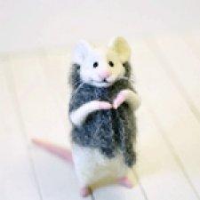 Ох уж эти мышки. Игрушки валянием из шерсти