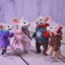 Семья мышек