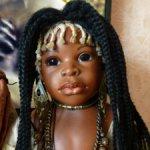 Шикарная африканская красавица! Черная жемчужина! ООАК