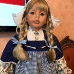 Срочно - 14ооо руб !!!  Голландская девочка Мерит (Marit) от Донна Руберт ( DONNA RUBERT)