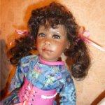 До 1 декабря- 7ооо руб!!!  ООАК.  Шоколадная девочка Катрина ищет новый дом