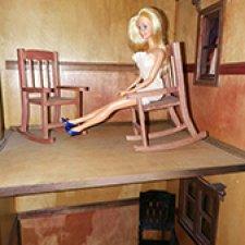 Мебель для куколок около 20 - 30 см. Скидки!