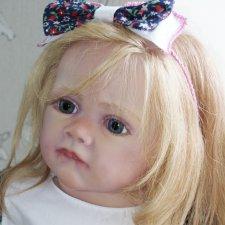 Фрида номер два с родными конечностями !кукла реборн Ольги Коновниной