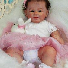 Сладкая булочка Грета, толстопопая принцесина. Кукла реборн Ольги Коновниной