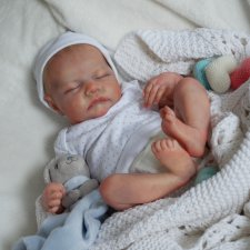 Малыш Левушка. Кукла реборн из молда Levi от Bonnie Brown
