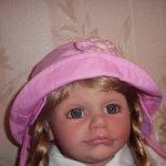 SARAH ESTHER KALLOUZ  коллекционная кукла 68 см masterpies gallery