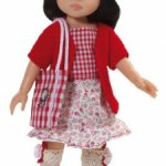 Paola Reina Кукла Аками, 32 см с кивающей головой