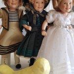 Лот из 3 кукол Ширли Темпл.