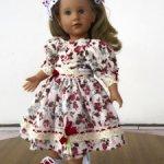 Платье и панталончики  для кукол Готц, Journey Girls,Мару энд френдс  и других
