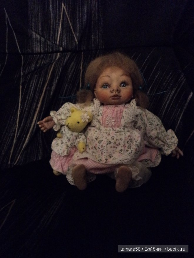 кукла-болтушка,20 см.,мягкре тельце(гранулят,синтепон)