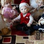 Моя коллекция кукол от Франклина Минта