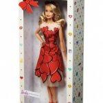 Коллекционная Барби Валентинов день