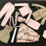 Реалистичный гардероб для барби  зима/ лето:)