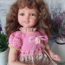 Юляшка. Авторская кукла Егоровой Елены