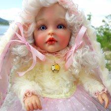 Моя зефиринка Полинка. Авторская кукла Егоровой Елены