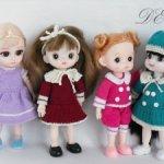 Одежда для кукол ростом 16 см
