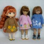 Одежда для кукол ростом 19-21 см