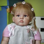 Еще одна Милашка. Кукла реборн Маши Малышевой
