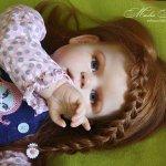 Малышка Пэггги. Кукла реборн Маши Малышевой