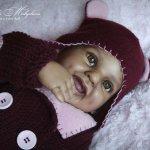 Темнокожая малышка Нэна. Кукла реборн Маши Малышевой