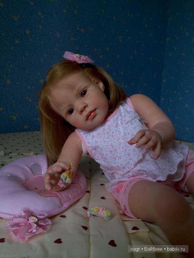 кукла реборн Луиза от Джанни де Ланж