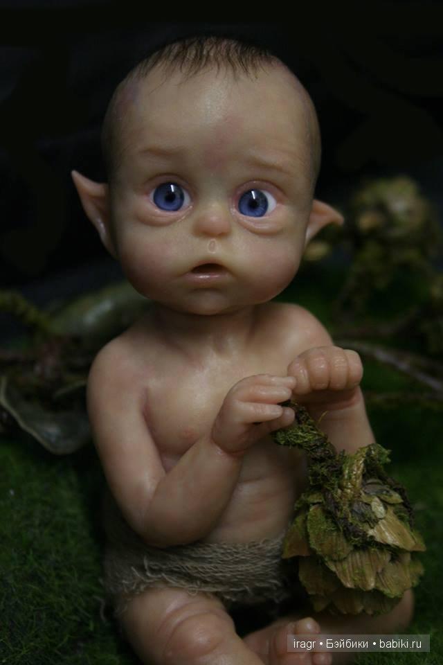 Ofelia, Эльфик от скульптора Olga Auer