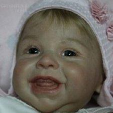 Кукляшка-улыбашка Харпер. Кукла реборн Гринистова Ирина