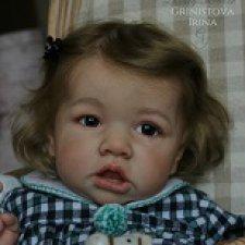 Vivienne. Кукла реборн из молда Саския
