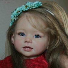 Большое спасибо всем за Ваши голоса в конкурсе за мою куклу реборн