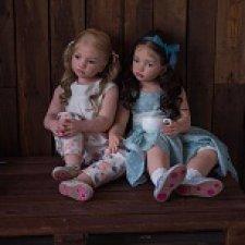 Verena&Skarlet . Куклы реборн Гринистовой Ирины