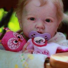 Ариана. Кукла реборн из молда Саскиа от Бонни Браун