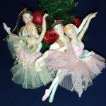 Две балетные пары на елку