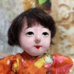 Японская девочка. Гофун Gofun