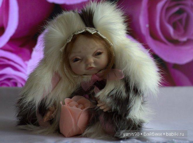 Малышка тедди-долл Ася