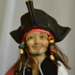 Авторская кукла Пират Джек