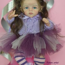 Петунья - девочка на шаре. Молд Petunia by Marita Winters