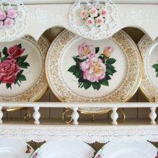 Винтажные тарелки. А Вы любите декоративные тарелки?